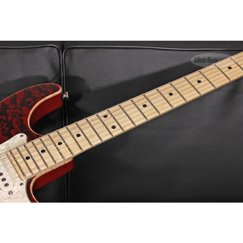 Drop Top Classic Quilt Maple Top on Alder Body Cajun Red with Binding【SN.07-19-20P / Weight≒3.35kg】_8