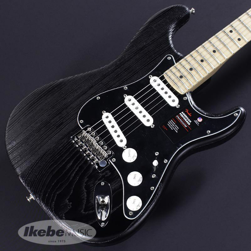 Limited Edition American Performer Sandblasted Stratocaster (Black) [Made In USA]_3