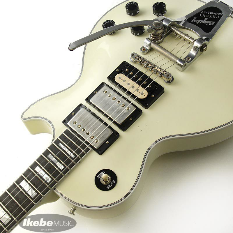 CUSTOM SHOP Les Paul Custom 3PU w/Bigsby Light Aged Classic White 【SN.CS000066】 【ポイント18%還元】_6