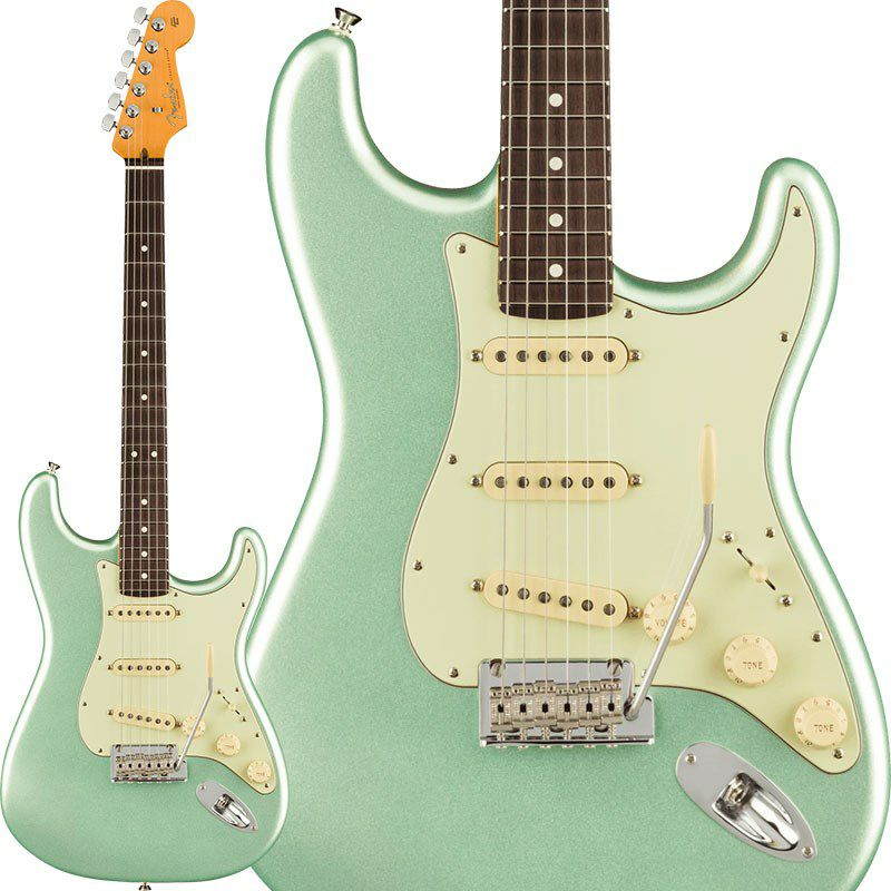 American Professional II Stratocaster (Mystic Surf Green/Rosewood) 【ポイント18%還元】_1
