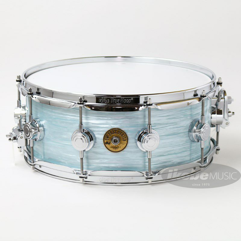 """DW-MJ1455SD/FP-PBOY/C [Jazz Series Maple/Gum 14""""×5.5"""" / Pale Blue Oyster Finish Ply]_1"""