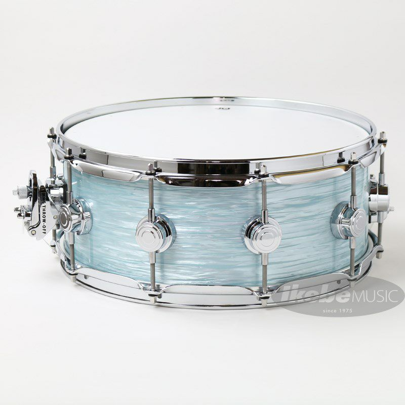 """DW-MJ1455SD/FP-PBOY/C [Jazz Series Maple/Gum 14""""×5.5"""" / Pale Blue Oyster Finish Ply]_2"""