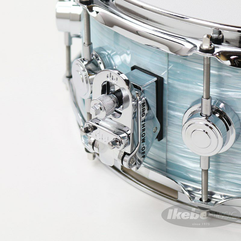 """DW-MJ1455SD/FP-PBOY/C [Jazz Series Maple/Gum 14""""×5.5"""" / Pale Blue Oyster Finish Ply]_3"""