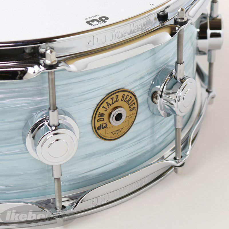 """DW-MJ1455SD/FP-PBOY/C [Jazz Series Maple/Gum 14""""×5.5"""" / Pale Blue Oyster Finish Ply]_5"""