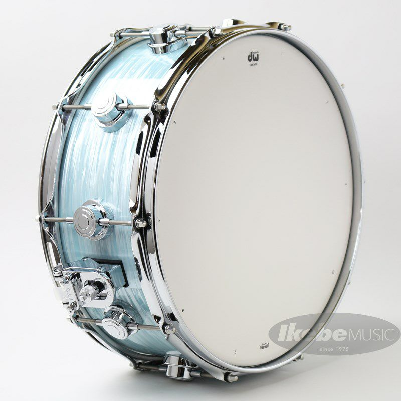 """DW-MJ1455SD/FP-PBOY/C [Jazz Series Maple/Gum 14""""×5.5"""" / Pale Blue Oyster Finish Ply]_6"""