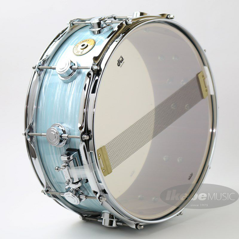 """DW-MJ1455SD/FP-PBOY/C [Jazz Series Maple/Gum 14""""×5.5"""" / Pale Blue Oyster Finish Ply]_7"""