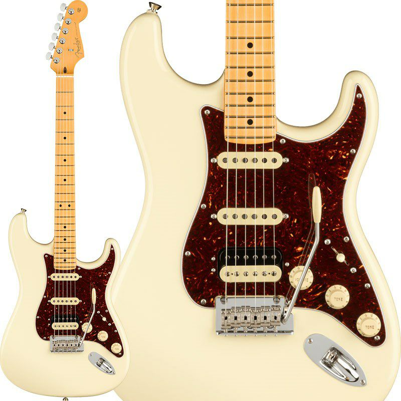 American Professional II Stratocaster HSS (Olympic White/Maple) 【ポイント18%還元】_1
