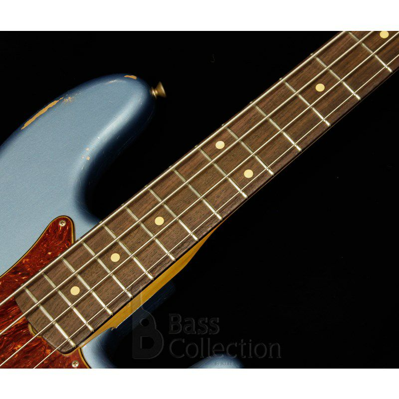 Limited Edition 1960 Precision Bass Heavy Relic (Faded Lake Placid Blue)_5