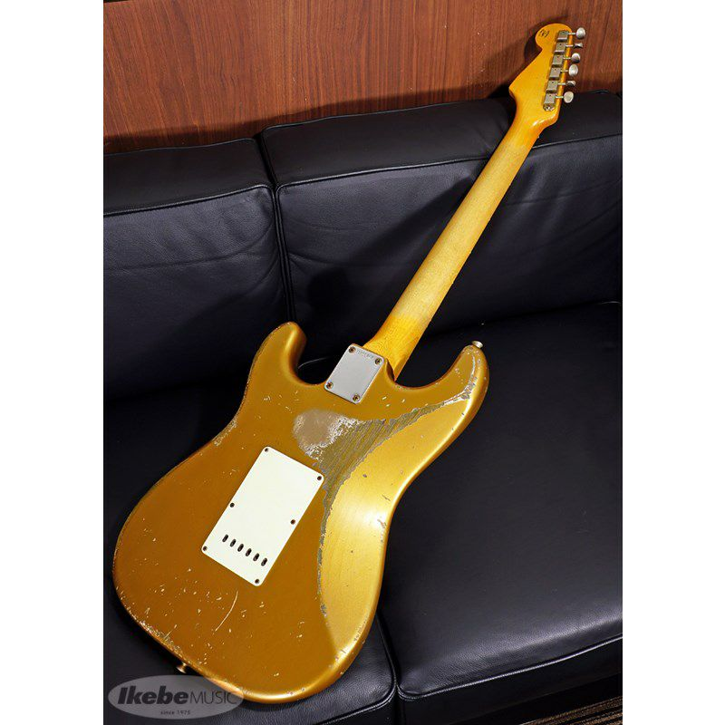 MBS 62 Stratocaster Heavy Relic,Aged Shoreline Gold,Master Built By Jason Smith SN.R103717/2019NAMM Re-Order Model_2