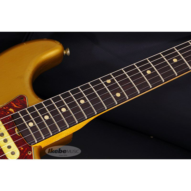 MBS 62 Stratocaster Heavy Relic,Aged Shoreline Gold,Master Built By Jason Smith SN.R103717/2019NAMM Re-Order Model_3