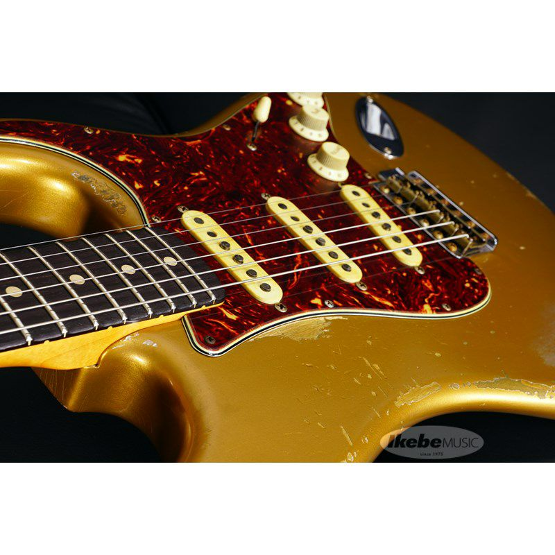 MBS 62 Stratocaster Heavy Relic,Aged Shoreline Gold,Master Built By Jason Smith SN.R103717/2019NAMM Re-Order Model_6