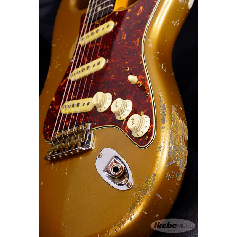 MBS 62 Stratocaster Heavy Relic,Aged Shoreline Gold,Master Built By Jason Smith SN.R103717/2019NAMM Re-Order Model_7