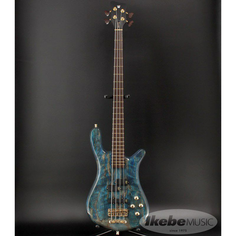 """Custom Shop Streamer LX4 """"Hand-Selected 1"""" Spalted Maple Top"""" (Bleached Ocean Blue Transparent High Polish Finish) [#J163053-18] 【特価】_2"""