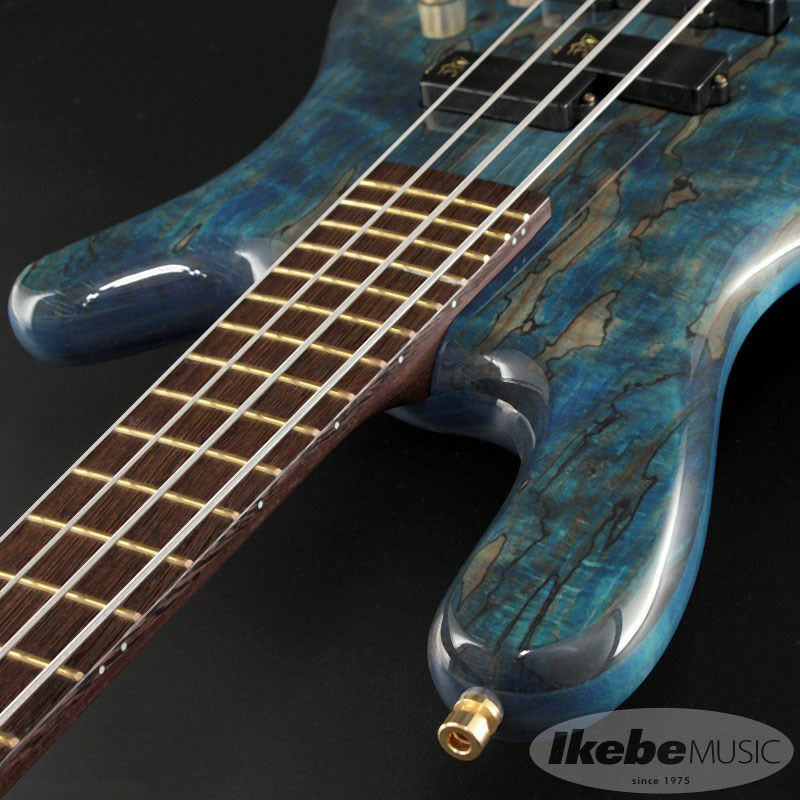 """Custom Shop Streamer LX4 """"Hand-Selected 1"""" Spalted Maple Top"""" (Bleached Ocean Blue Transparent High Polish Finish) [#J163053-18] 【特価】_6"""