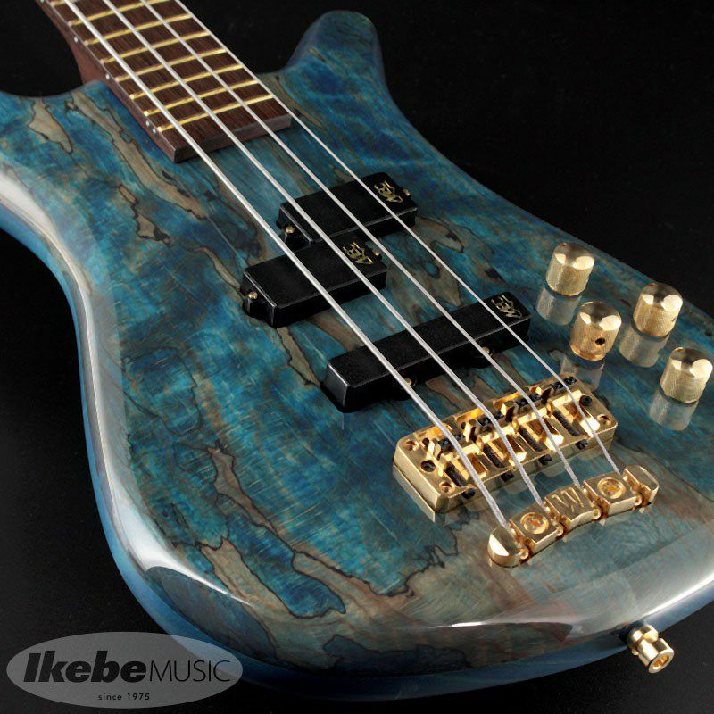 """Custom Shop Streamer LX4 """"Hand-Selected 1"""" Spalted Maple Top"""" (Bleached Ocean Blue Transparent High Polish Finish) [#J163053-18] 【特価】_7"""