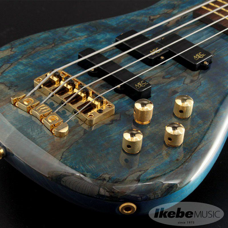 """Custom Shop Streamer LX4 """"Hand-Selected 1"""" Spalted Maple Top"""" (Bleached Ocean Blue Transparent High Polish Finish) [#J163053-18] 【特価】_8"""