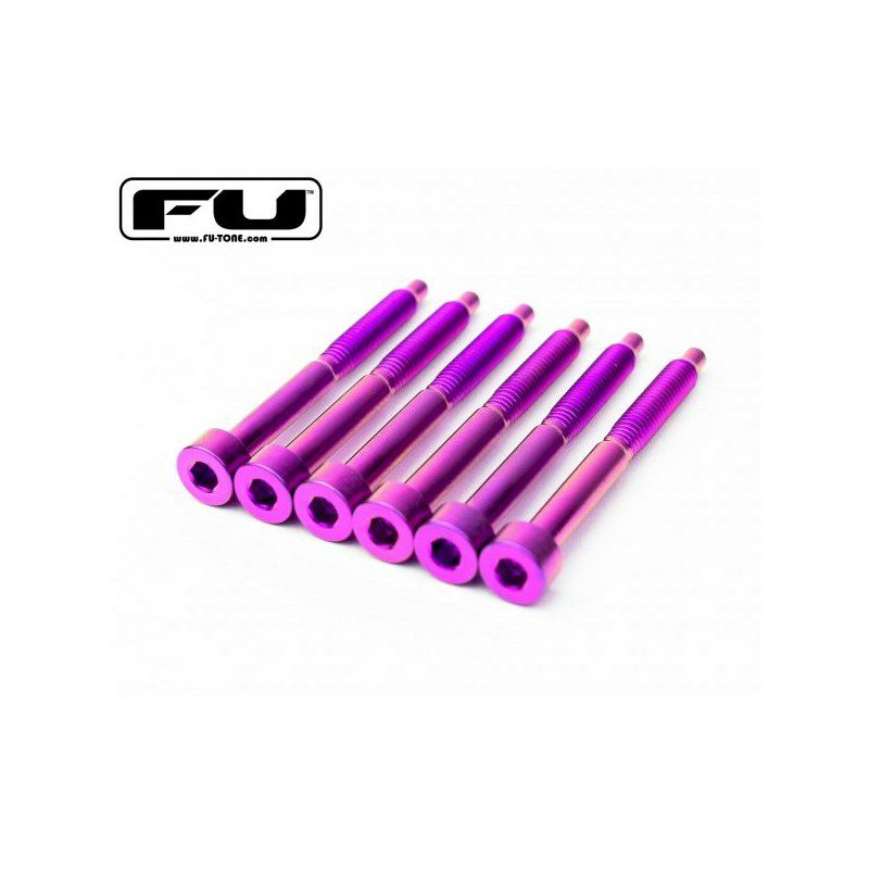 Titanium String Lock Screw Set (6) - PURPLE_1