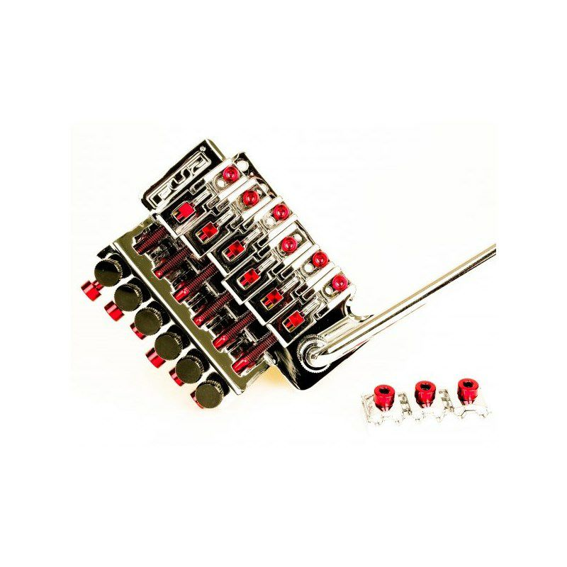 Titanium Saddle Mounting Screw Set (6) - RED_2