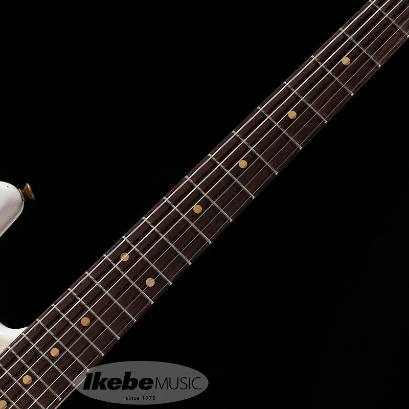 Custom Built 1961 Stratocaster Heavy Relic Super Aged Olympic White【IKEBE Order Model】 【ポイント18%還元】_6
