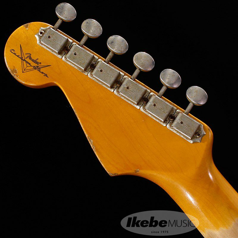 Custom Built 1961 Stratocaster Heavy Relic Super Aged Olympic White【IKEBE Order Model】 【ポイント18%還元】_9