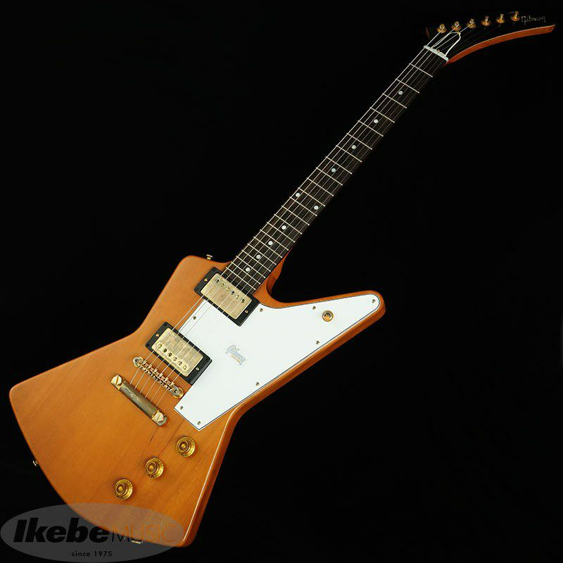 Custom Shop 1958 Mahogany Explorer Elbow Cut VOS / Heavy Antique Natural 【特価】_2