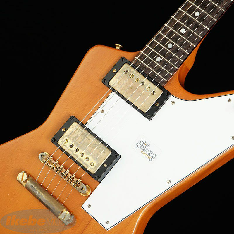 Custom Shop 1958 Mahogany Explorer Elbow Cut VOS / Heavy Antique Natural 【特価】_4