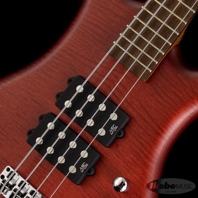 "German Team Built Corvette $$ 4st ""Flame Maple Top"" (Burgundy Red Transparent Satin) 【特価】_4"