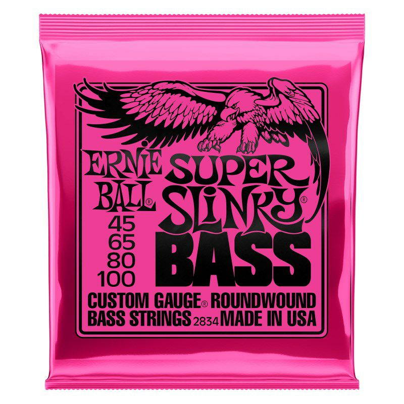 Round Wound Bass Strings/ 2834 SUPER SLiNKY_1