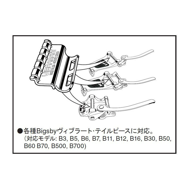 Spoiler Silver [String Retainer for Bigsby Vibratos]_2