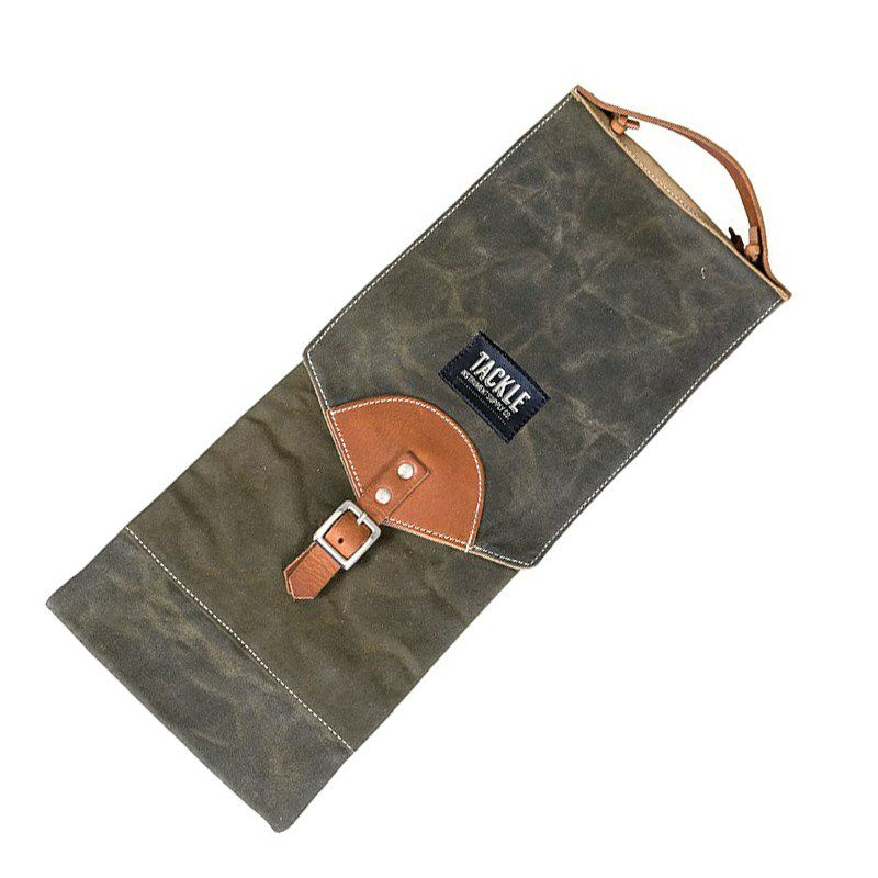 CSB-WFG [Waxed Canvas Compact Drum Stick Bag / Forest Green]_1