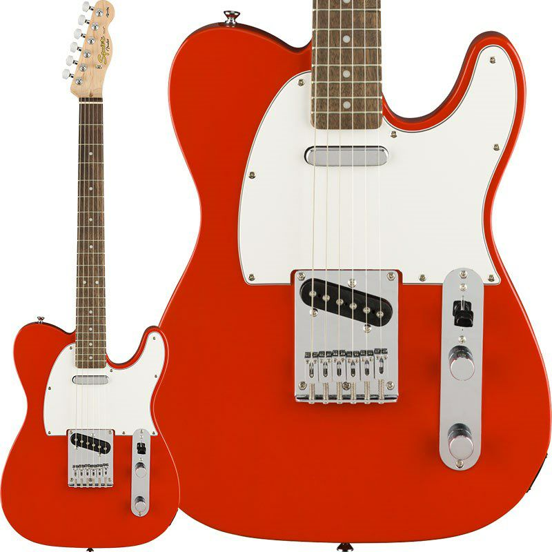 Affinity Series Telecaster (Race Red/Laurel Fingerboard)_1