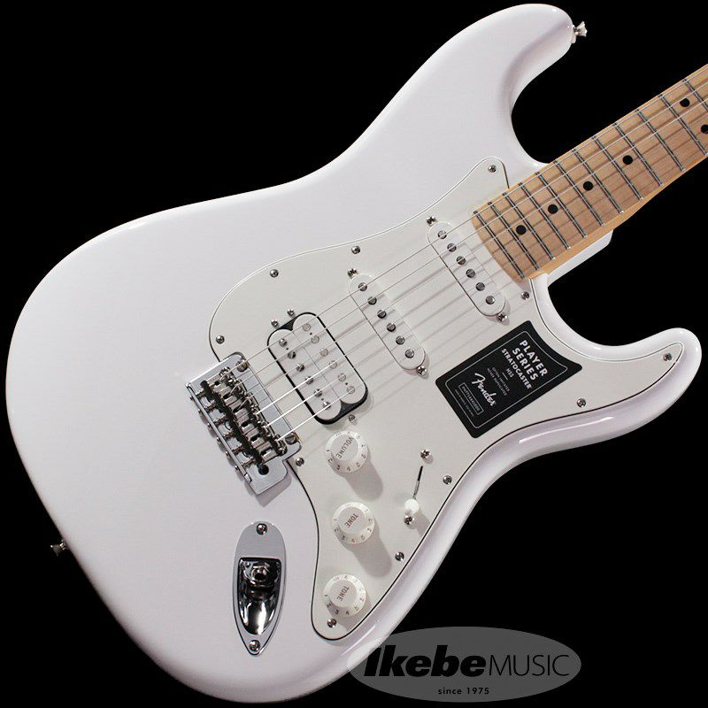 Player Stratocaster HSS (Polar White/Maple) [Made In Mexico]_1
