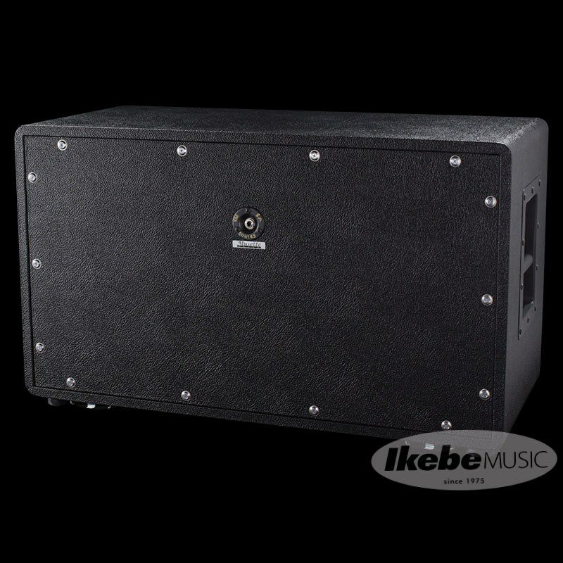 2×12 Cabinet Closed Back 8Ω【Black/Silver Piping】_4