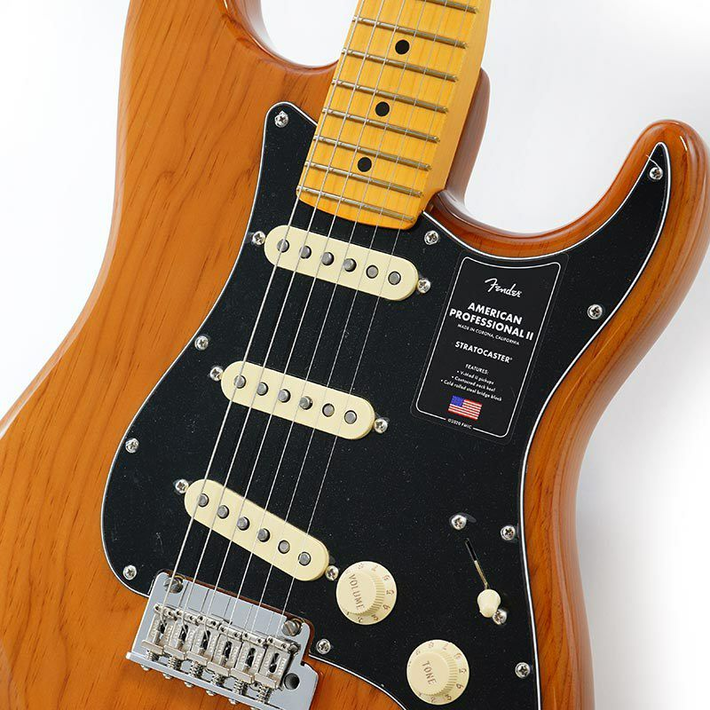 American Professional II Stratocaster (Roasted Pine/Maple)_4