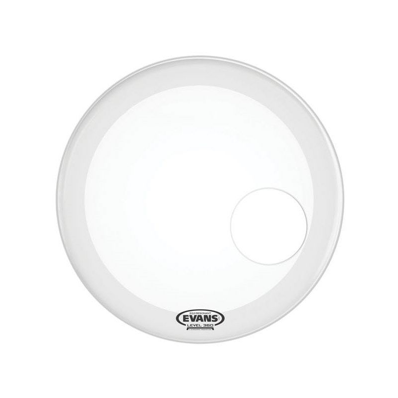 "BD22RSW [EQ3 Resonant Smooth White 22"" / Bass Drum]【1ply , 7.5mil + 10mil ring】【お取り寄せ品】【数量限定特価!】_1"