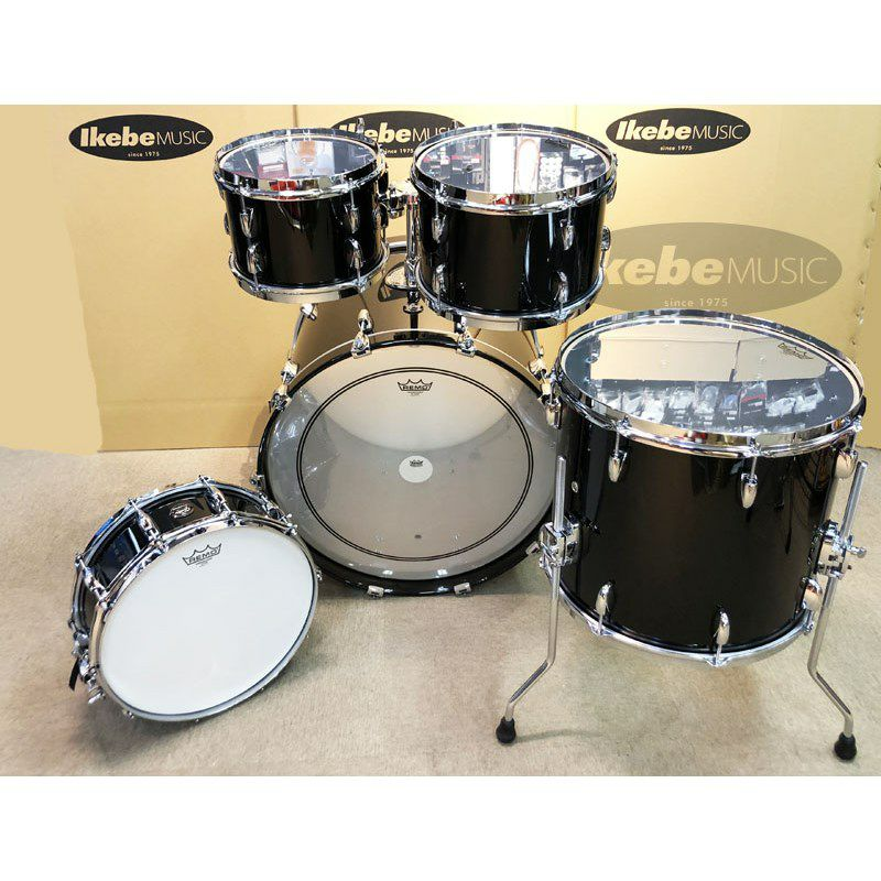RN2-E825-PB [Renown Series 5pc Drum Kit / Piano Black Gloss]_6