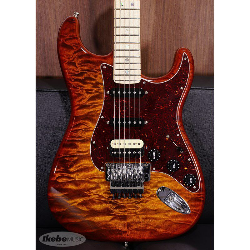 MBS Quilted Maple Top Stratocaster NOS Tiger Eye Master Built By Jason Smith S/N CZ549530 【ポイント18%還元】_3