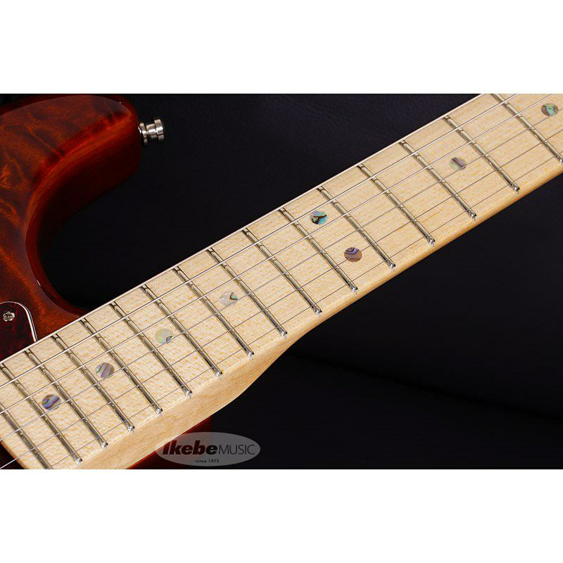 MBS Quilted Maple Top Stratocaster NOS Tiger Eye Master Built By Jason Smith S/N CZ549530 【ポイント18%還元】_8
