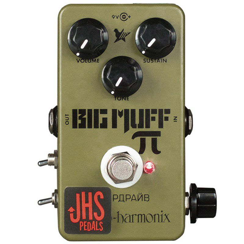 EHX Green Russian Big Muff Moscow Mod 【特価】_1