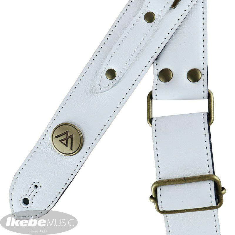 Square (White Leather & Gold Parts)[LM72WGL]_3