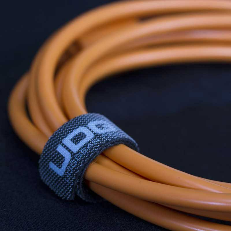 Ultimate Audio Cable USB 2.0 A-B Orange Angled 1m_4