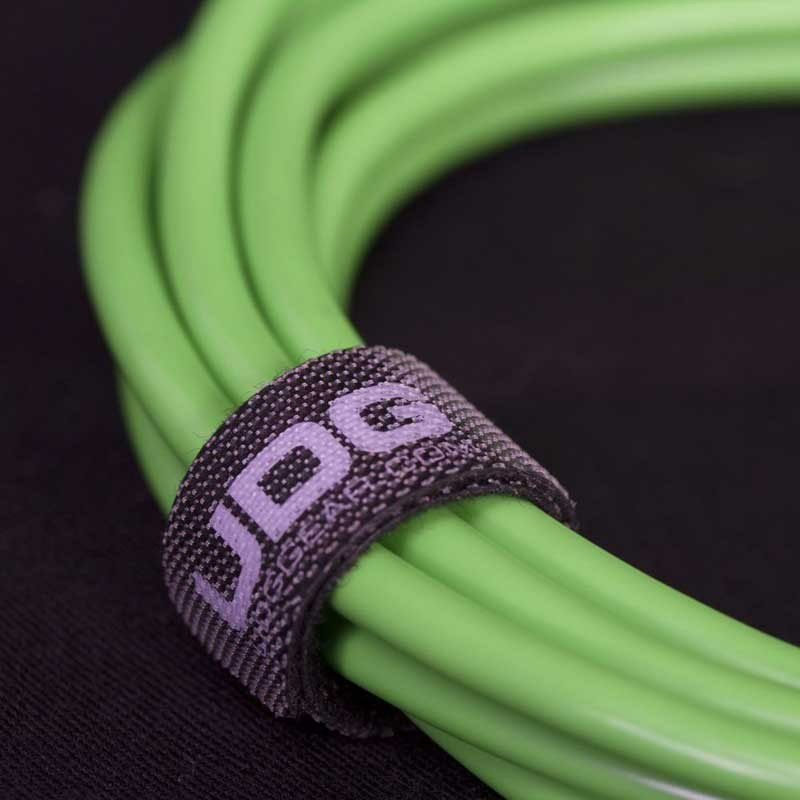 Ultimate Audio Cable USB 2.0 A-B Green Angled 1m_4