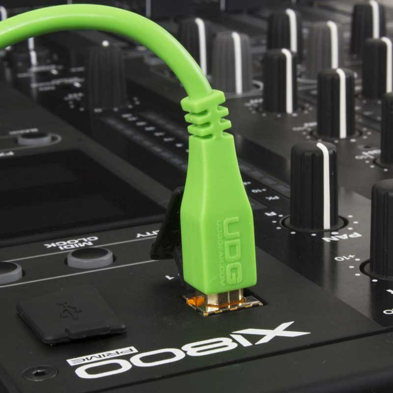 Ultimate Audio Cable USB 2.0 A-B Green Straight 1m_5