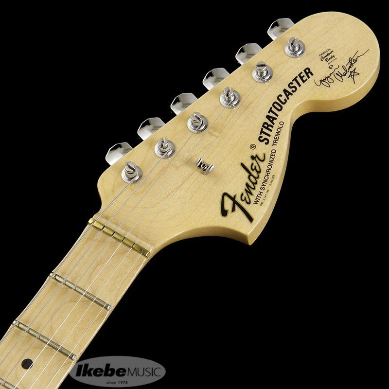 Custom Artist Series Yngwie Malmsteen Signature Stratocaster (Vintgae White/Scalloped Maple)【特価】 【ポイント18%還元】_9