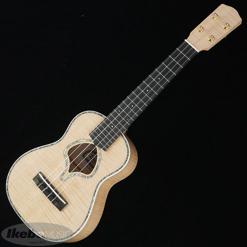 LUK-2000C/Flame Maple (Natural) [Concert Ukulele] #AL0035_2