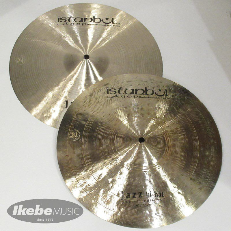 Special Edition Jazz HiHat 14pair [Top:850g / Bottom:1095g] 【Made in Turkeyシンバルフェア!】_1