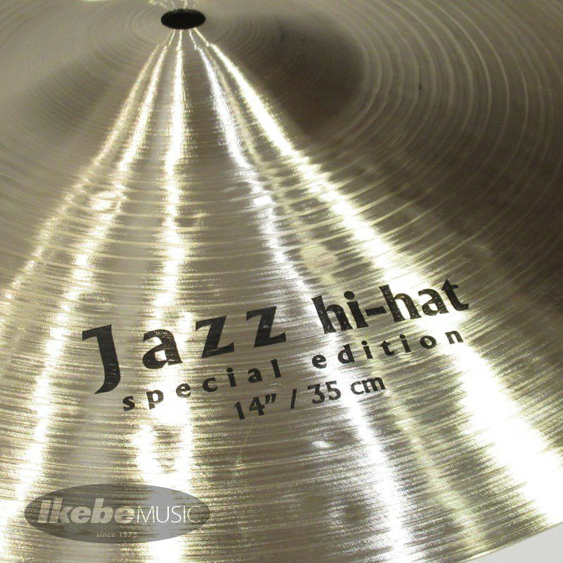 Special Edition Jazz HiHat 14pair [Top:850g / Bottom:1095g] 【Made in Turkeyシンバルフェア!】_4