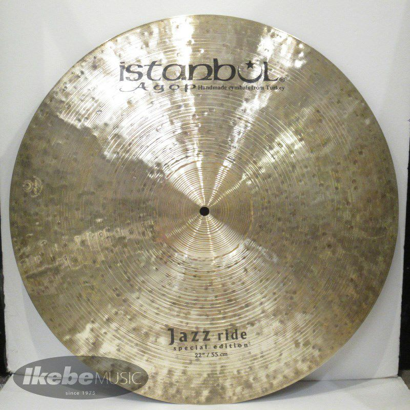 Special Edition Jazz Ride 22[2520g] 【Made in Turkeyシンバルフェア!】_1