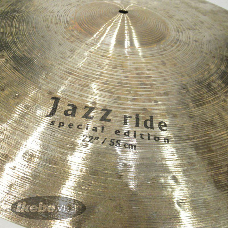 Special Edition Jazz Ride 22[2520g] 【Made in Turkeyシンバルフェア!】_3