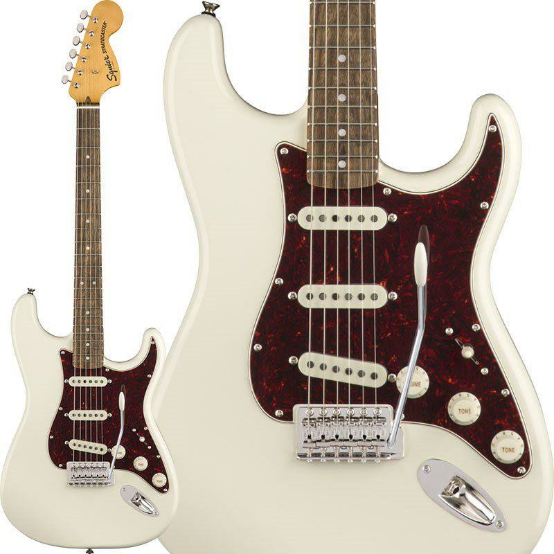 Classic Vibe '70s Stratocaster (Olympic White/Laurel Fingerboard)_1